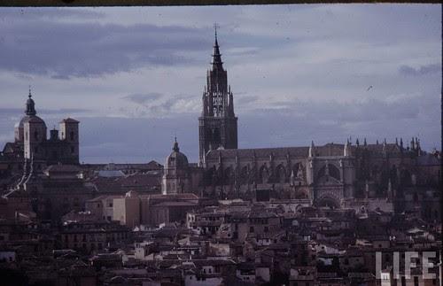 Vista de Toledo en 1963. Fotografía de Dmitri Kessel. Revista Life