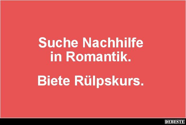 Suche Nachhilfe In Romantik Lustige Bilder Sprüche Witze Echt