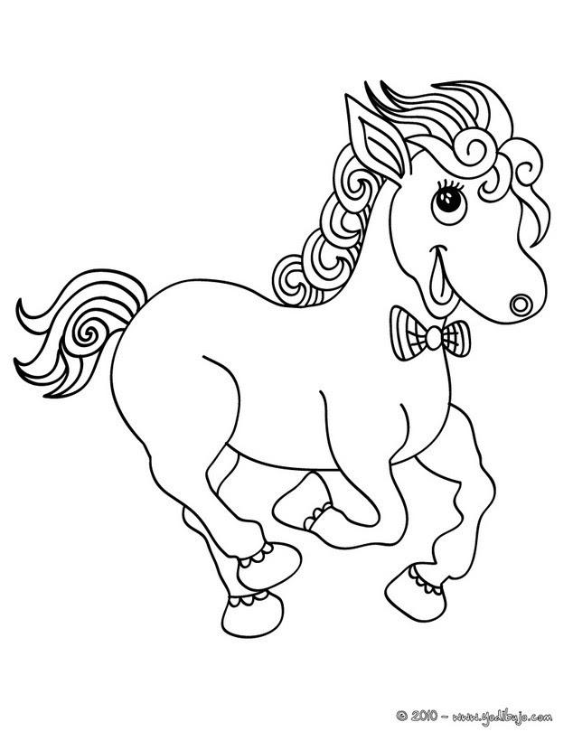 Dibujos De Ponis Para Colorear 17 Dibujos De Animales Para