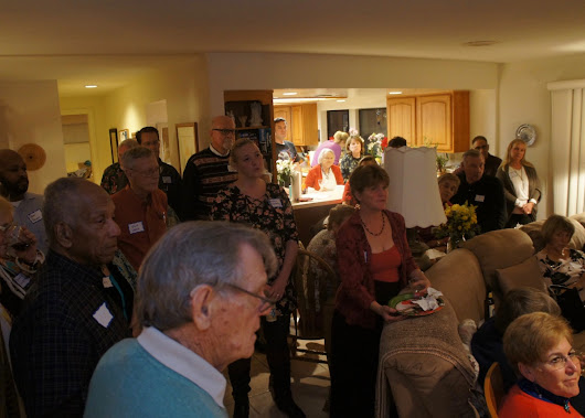 Thanks for the Great Turnout at the Annual Potluck and Toy Drive – Happy Holidays!