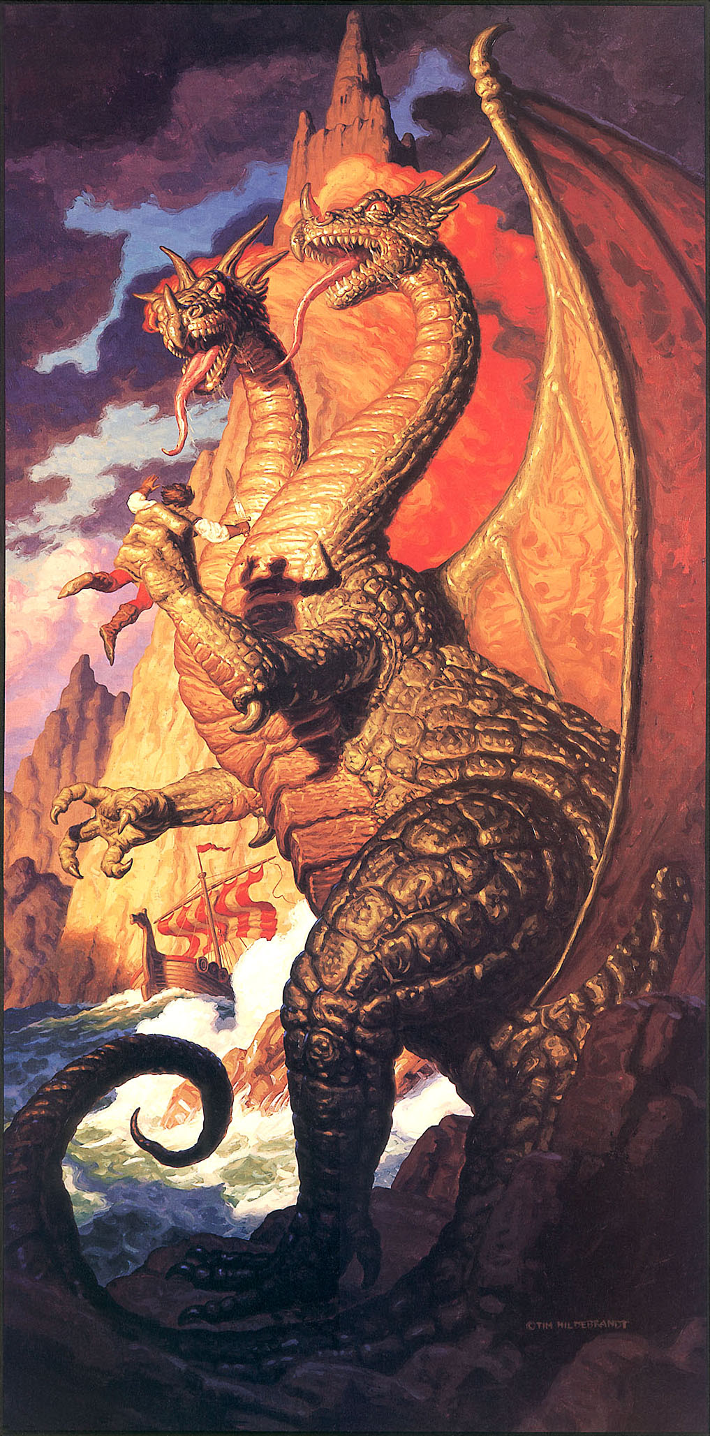 Tim Hildebrandt -  The Dragon's Keep