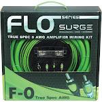 Surge F-0 - Flo Series Amp Installation Kit 0 Gauge, 5,000 Watts