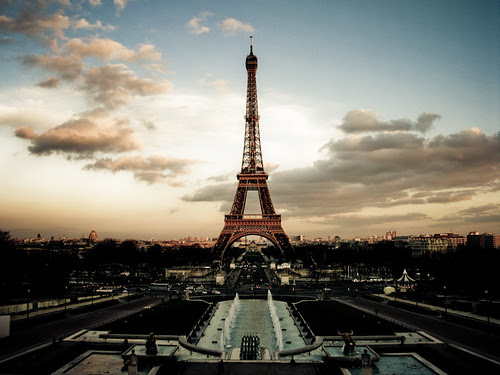 Eiffel Tower at Dusk - Paris, France, Eu by trixnbooze, on Flickr