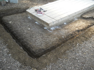 More Concrete Mesh Installed