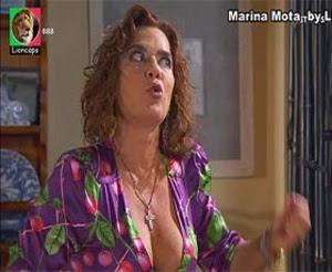Marina Mota sensual na novela Destinos Cruzados