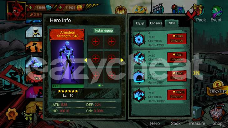 Zombie Avengers:Stickman 1.1.0
