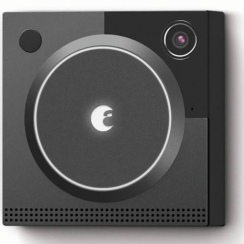 August Doorbell Cam Pro Doorbell camera - Wireless - Dark Gray