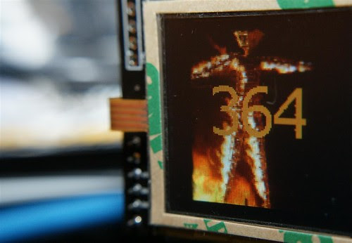 Arduino TouchShield 4 Burning man by you.