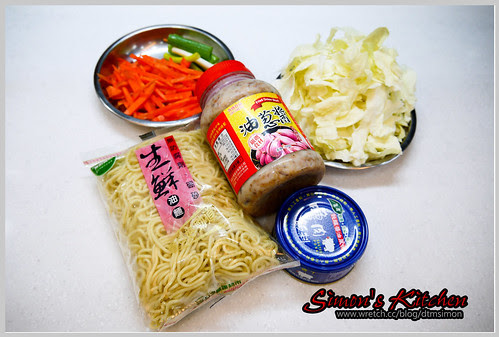 小吃攤炒麵01