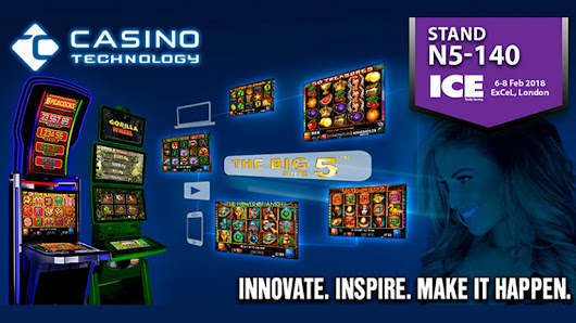 Casino Technology with а strong portfolio of game packs, slots and system solutions at ICE 2018