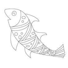 Dibujos Para Colorear Pescado De Abril Para Recortar Eshellokidscom