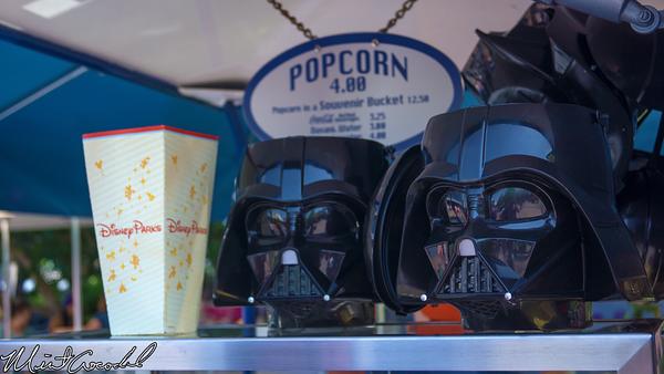 Disneyland Resort, Disneyland, Darth Vader, Popcorn, Bucket