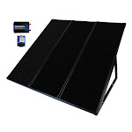 Coleman 55W Solar Panel with 7AMP Charge Controller & 300W Inverter