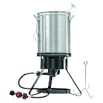 Masterbuilt Cold Rolled Steel Turkey Fryer 30 qt.