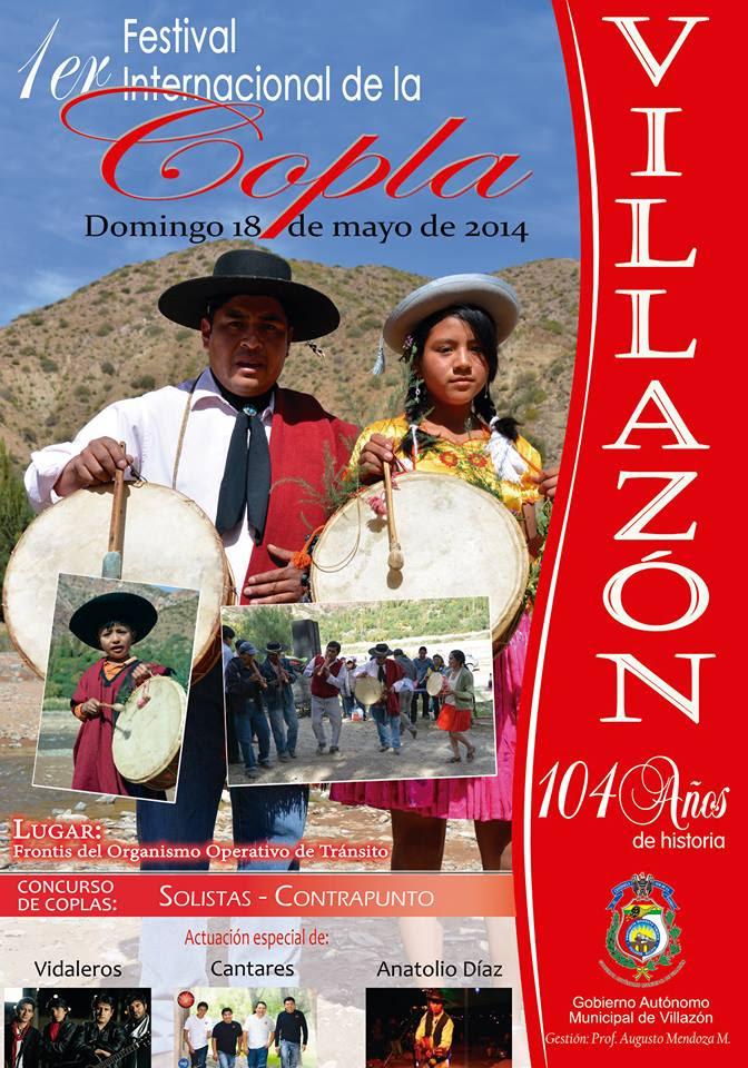 1er. Festival Internacional de la Copla - Villazón 2014