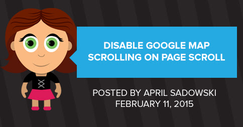 Disable Google Map Scrolling on Page Scroll - Edge Webware, Inc.