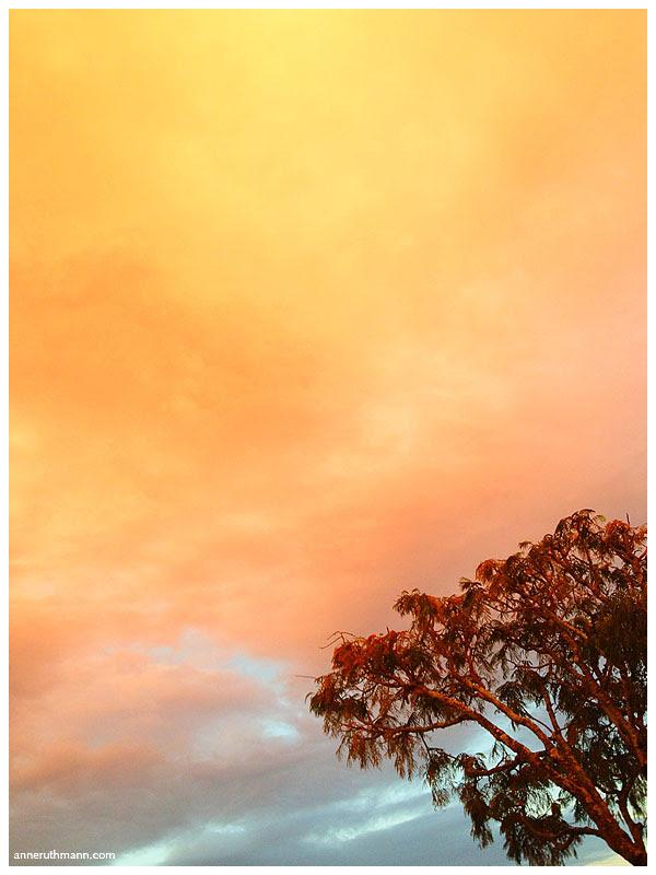 Rainbow Clouds Over Brisbane, QLD Australia