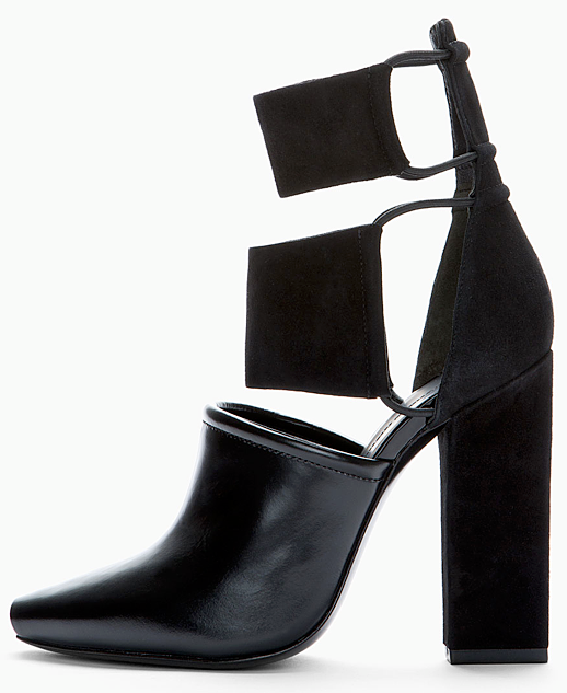 LE FASHION BLOG SHOE CRUSH ALEXANDER WANG MACKENZIE ANKLE SUEDE HEEL BOOT BOOTIE ELASTIC BANDS