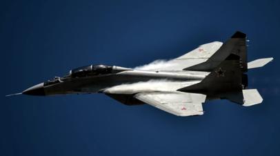 На место крушения МиГ-29 под Астраханью направили комиссию Главкома ВКС России