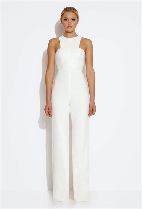 This AQ/AQ white jumpsuit is so versatile and classy. You