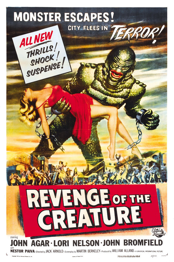 Reynold Brown - Revenge of the Creature (Universal International, 1955)