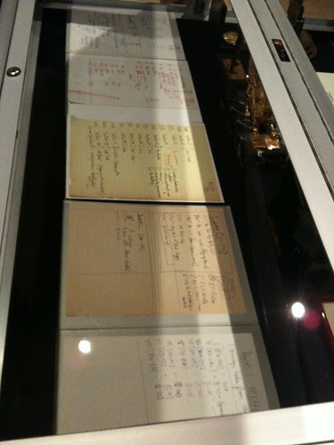 Merce Cunningham's dance score