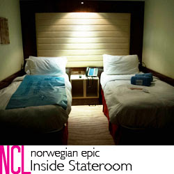 NCL Epic Inside Stateroom