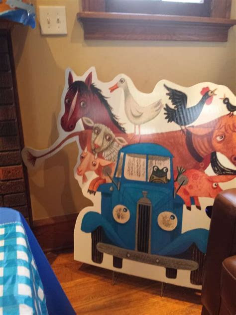 Blue/Little Blue truck Birthday Party Ideas   Photo 2 of