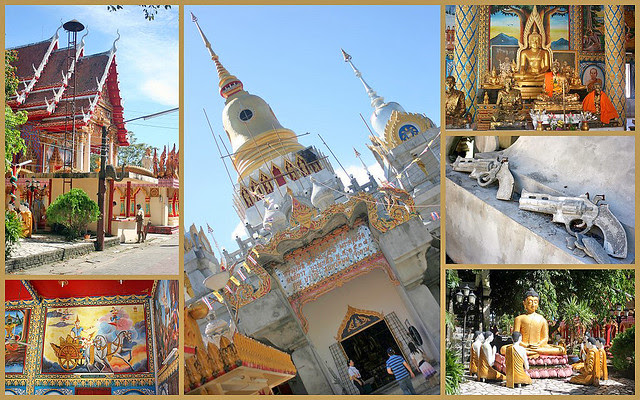 Pranang Sang Temple in Thalang is the oldest Buddhist temple on the island