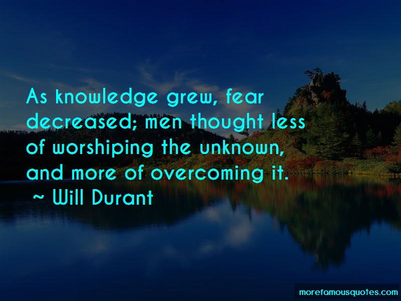 Quotes About Fear Of The Unknown Do You Want More Quotes Like This