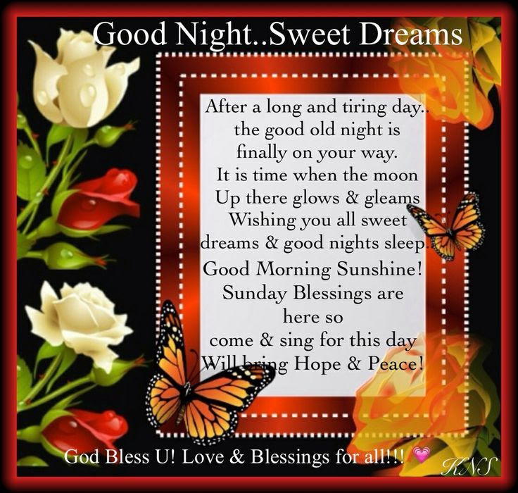 Good Night Sweet Dreams Pictures Photos And Images For Facebook