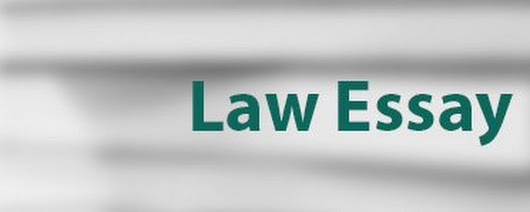 Professional Help for Law Essay
