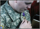 Local Chapter Honors Purple Heart Recipient