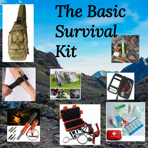 The Basic Survival Kit                      – Wellnessandsecurity