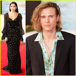 Dua Lipa & Dougie Poynter Support 'Dunkirk' Cast at London World Premiere!