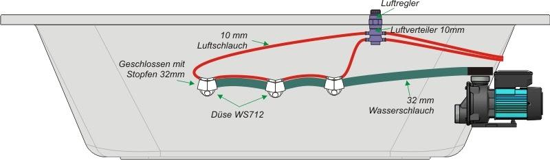 Whirlpool System Schlauch WS712