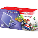 Nintendo New 2DS XL Mario Kart 7 Bundle - Purple/Silver