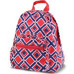"Zodaca 11.5"" Bright Stylish Kids Small Backpack Schoolbag Outdoor Shoulder School Zipper Bag Adjustable Strap for Kids Girls (Size: 9.25"" L x 3.5"" W x"