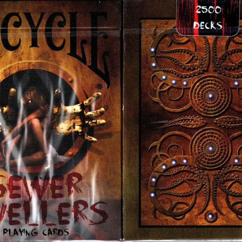 Details about Sewer Dwellers Deck Bicycle Playing Cards Poker Size USPCC Limited Edition New