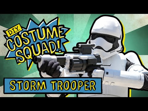 Make Your Own Stormtrooper Costume [DIY Costume... - Gabetumblr