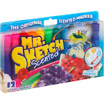Mr. Sketch Scented Markers - 12 count