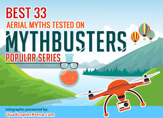 33 Best Aerial Myths Tested on Mythbusters [Infographic] - Quadcopter Arena