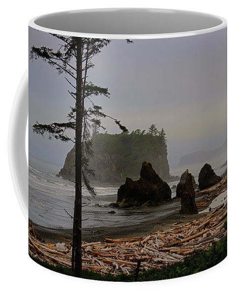 Misty Ruby Beach Coffee Mug
