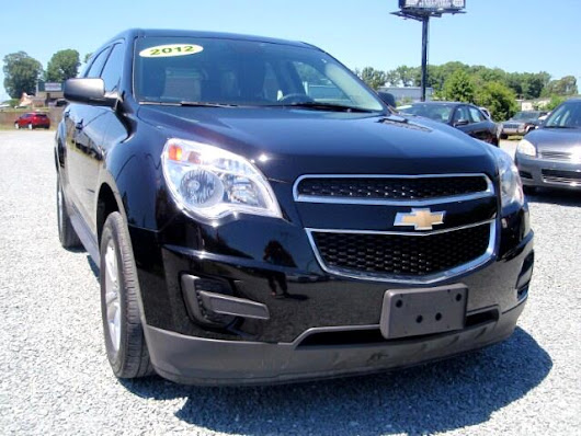 Used 2012 Chevrolet Equinox LS 2WD for Sale in Monroe NC 28110 Auto Track