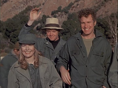 George Morgan as Father Mulcahy in M*A*S*H--The Pilot