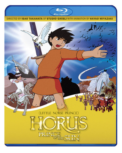 Horus, Prince of the Sun Blu-Ray