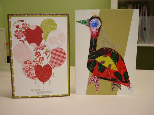 Cards from sheryll, janette