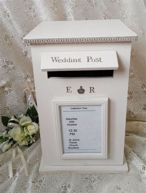 Decided To Try Making Wooden Wedding Postboxes n This Is