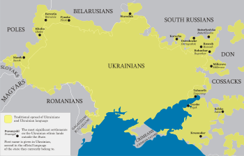 Ukrainian language and Ukrainians with their n...