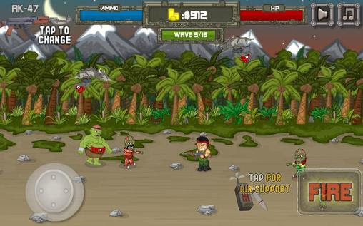 Screenshots of the Good morning zombies for Android tablet, phone.